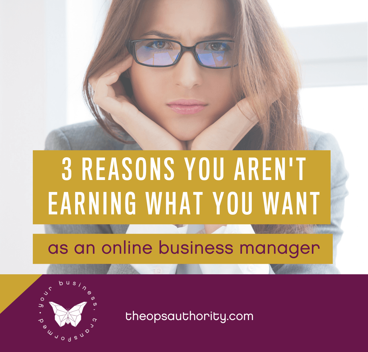 3 Reasons You Aren't Earning What You Want as an OBM