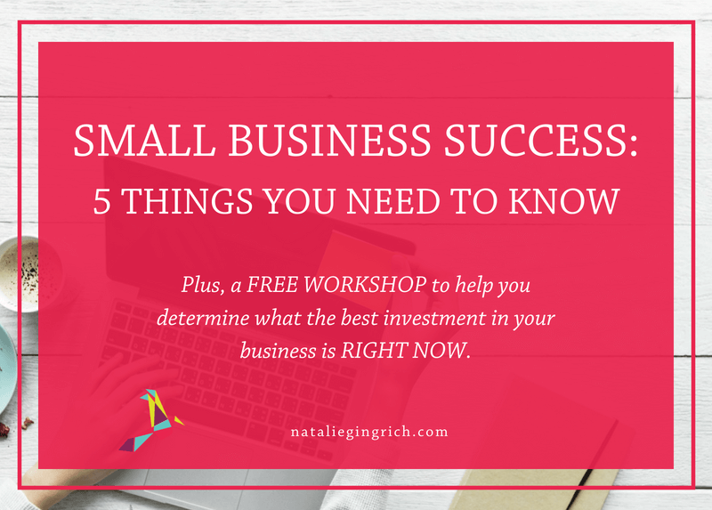 Small business success: 5 things you need to know