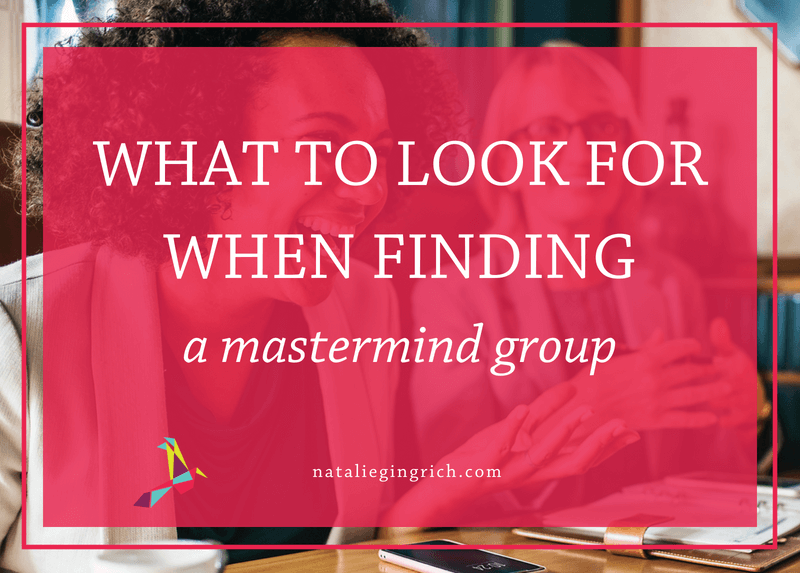 What to look for when finding a mastermind group