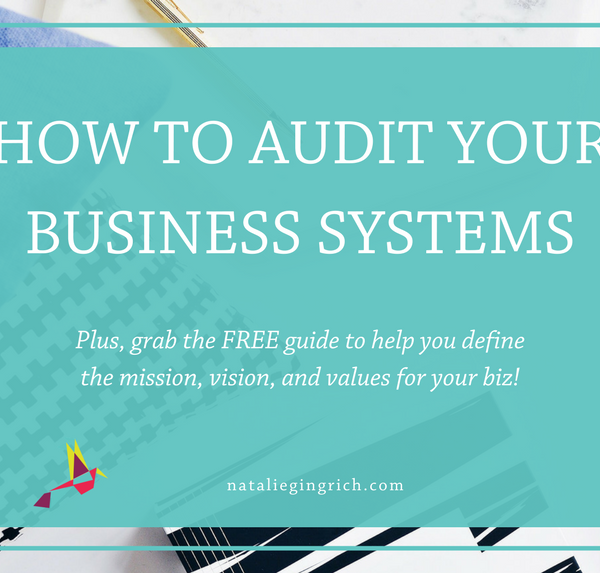 How to audit your business systems2