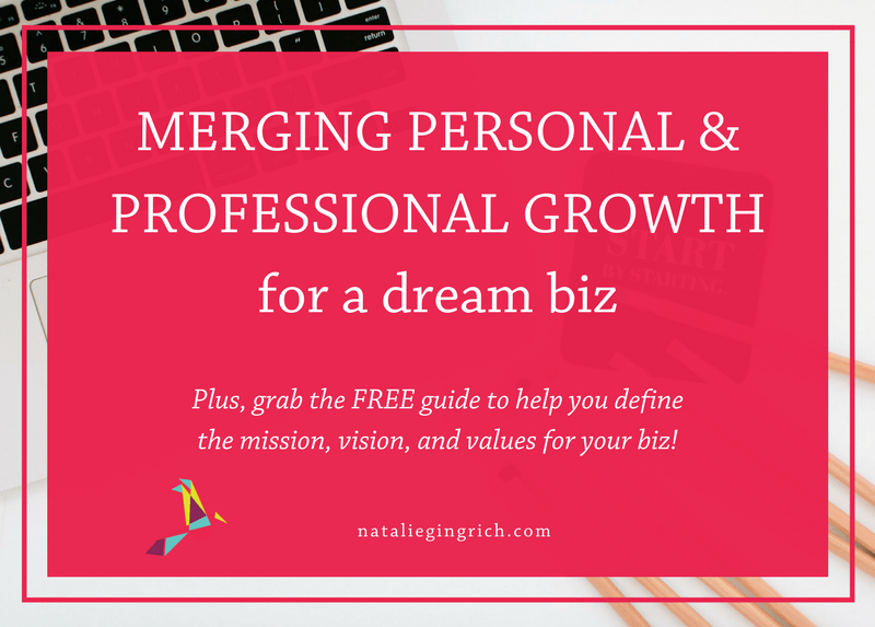 Merging Personal and Professional Growth for a Dream Biz