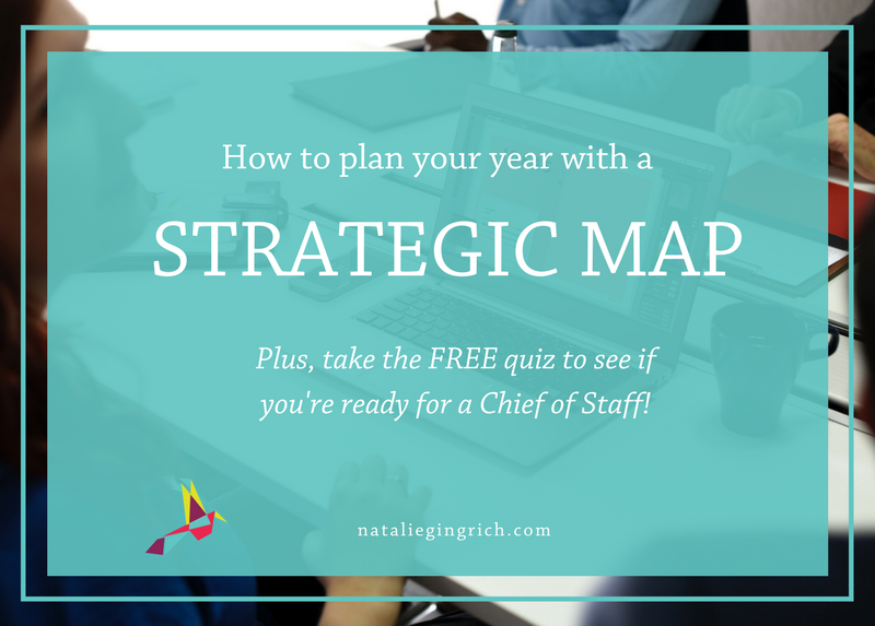 How to Plan Your Year with a Strategic Map