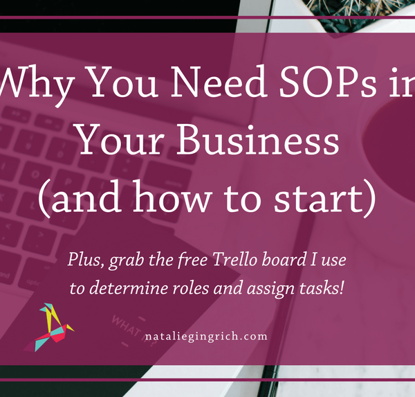 Why You Need SOPs in Your Business and how to start