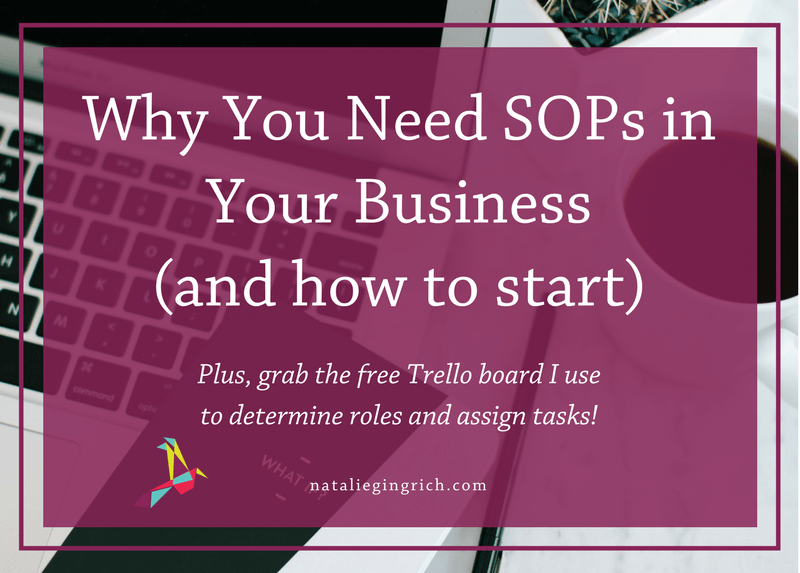 Why You Need SOPs in Your Business (and how to start)