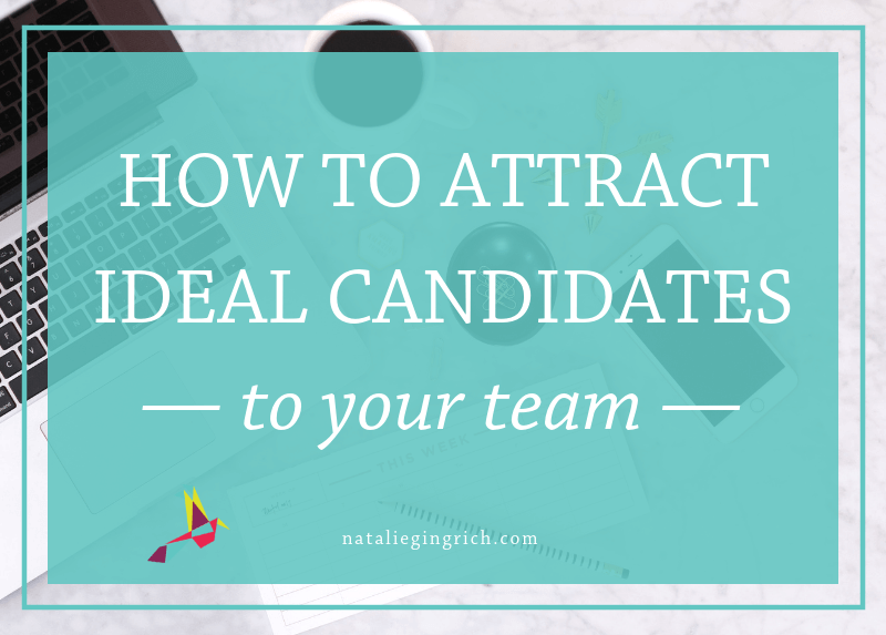 How to attract ideal clients to your team
