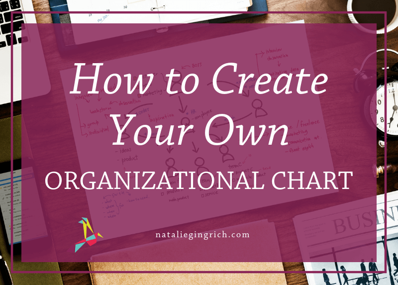 How to create your own organizational chart