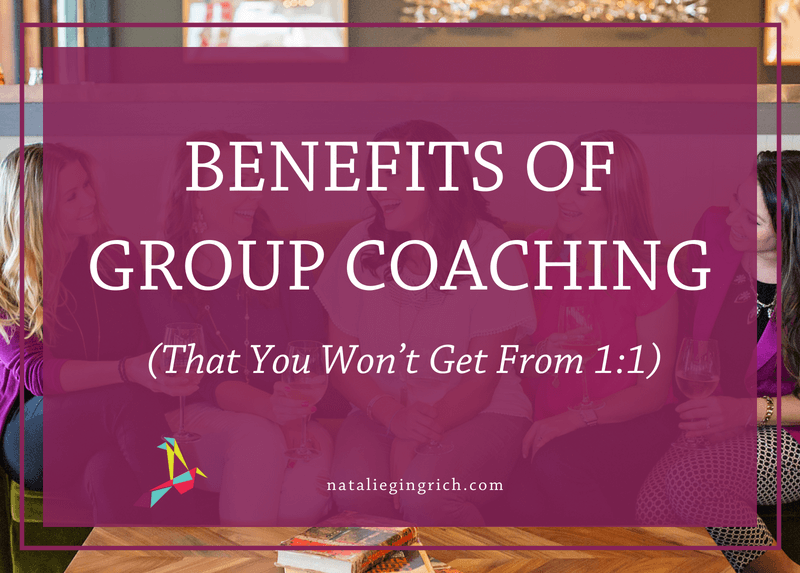 Benefits of group coaching that you won't get from one-on-one coaching