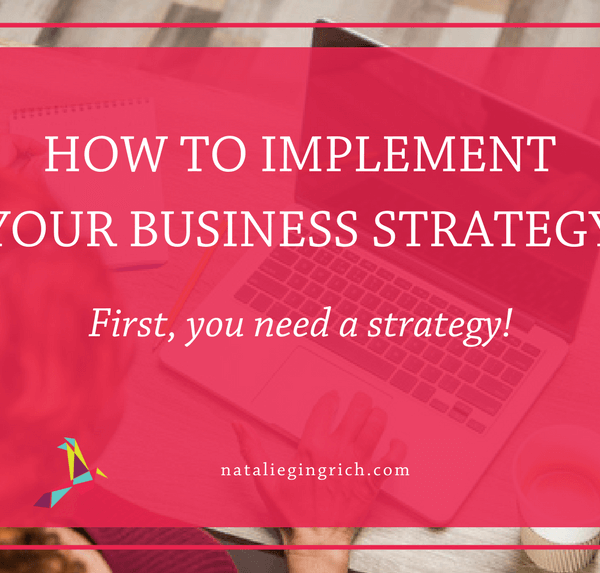 how to implement business strategy