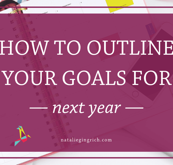 outline yearly goals
