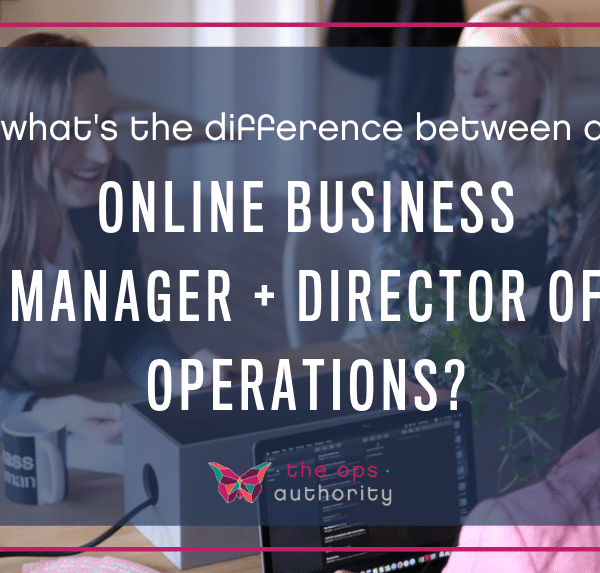 NG difference between online business manager and director of operations