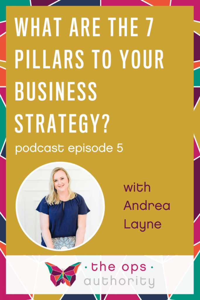 What are the 7 Pillars to Your Business Strategy?