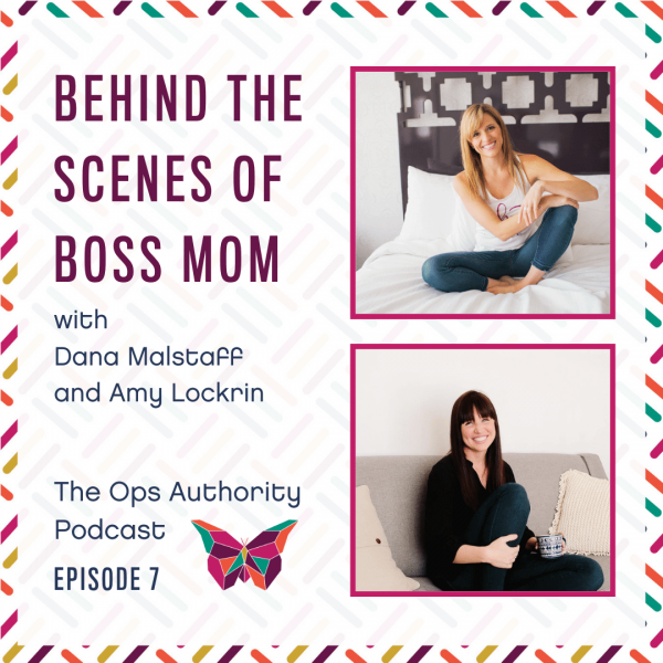 Behind the Scenes of Boss Mom: Dana & Amy together