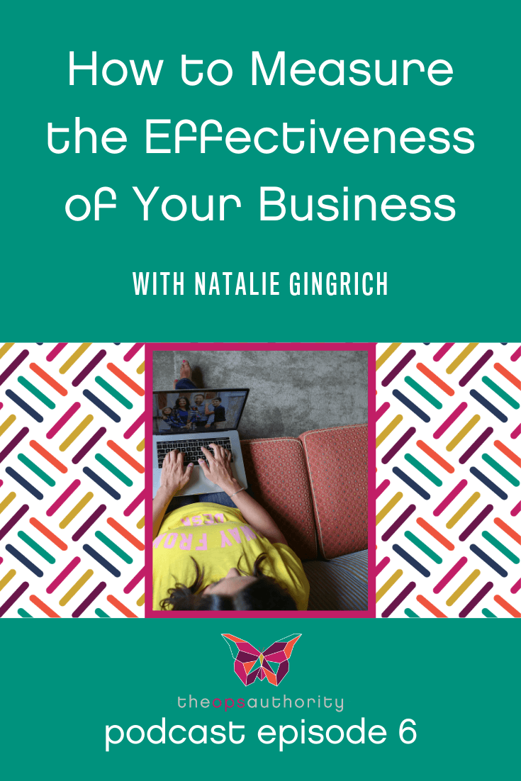 How to measure the effectiveness of your business