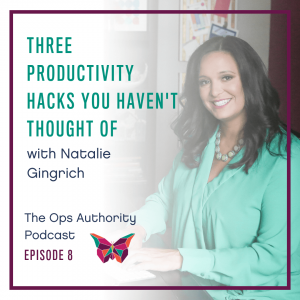 Three Productivity Hacks You Haven't Thought Of