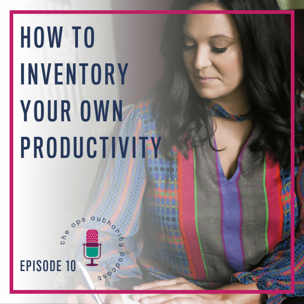 TOA 010 Inventory own productivity
