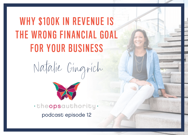 Why 100K revenue is the wrong financial goal