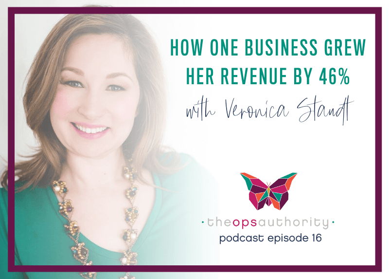 How One Business Grew Her Revenue by 46% with Veronica Staudt