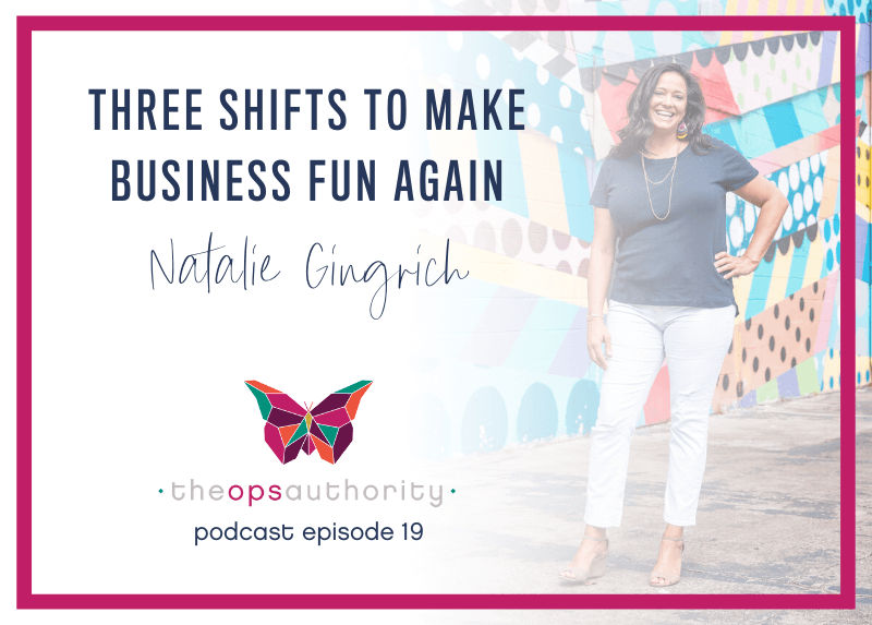 Three Shifts to Make Business Fun Again
