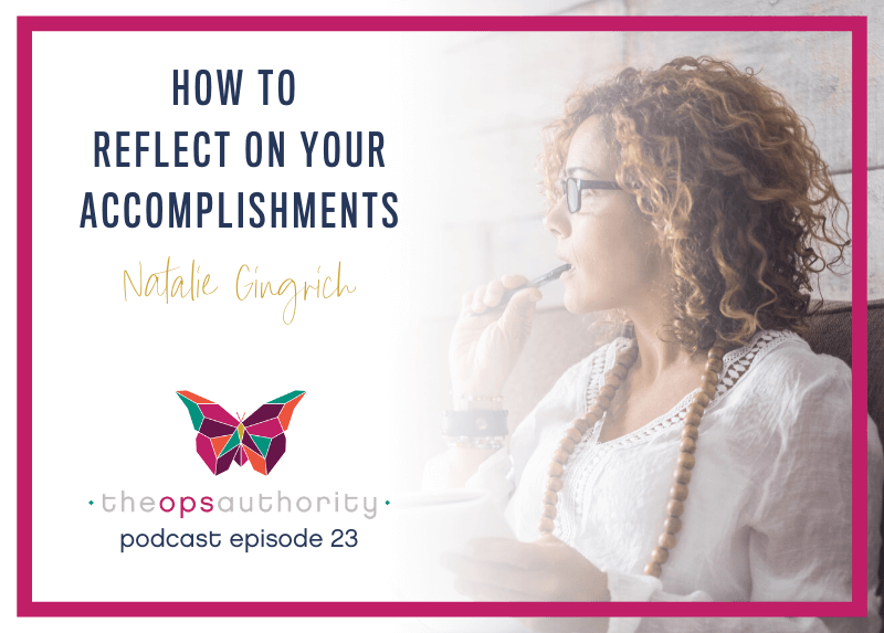 How to reflect on your accomplishments