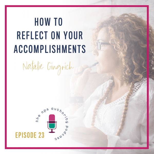How to reflect on your accomplishments square