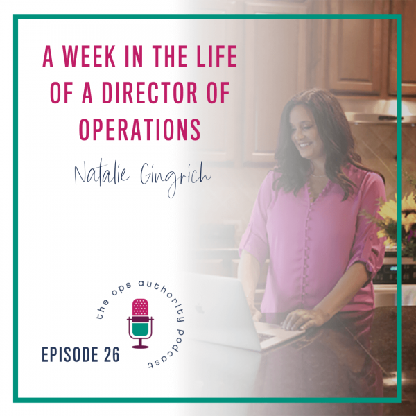 A Week in the Life of a Director of Operations