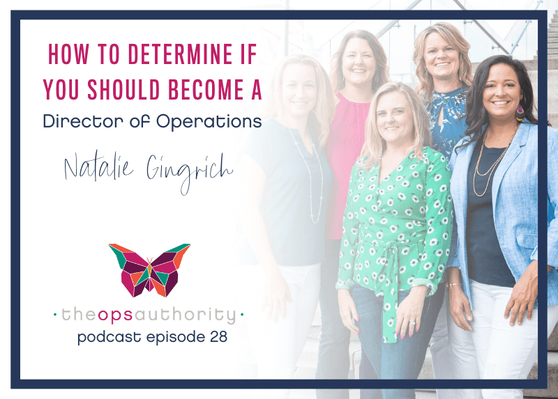 How to Determine if You Should Become a Director of Operations