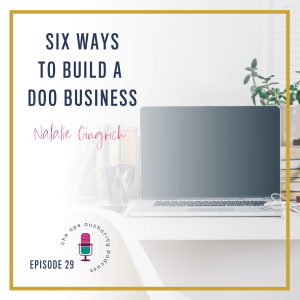 Six Ways to Build a DOO Business