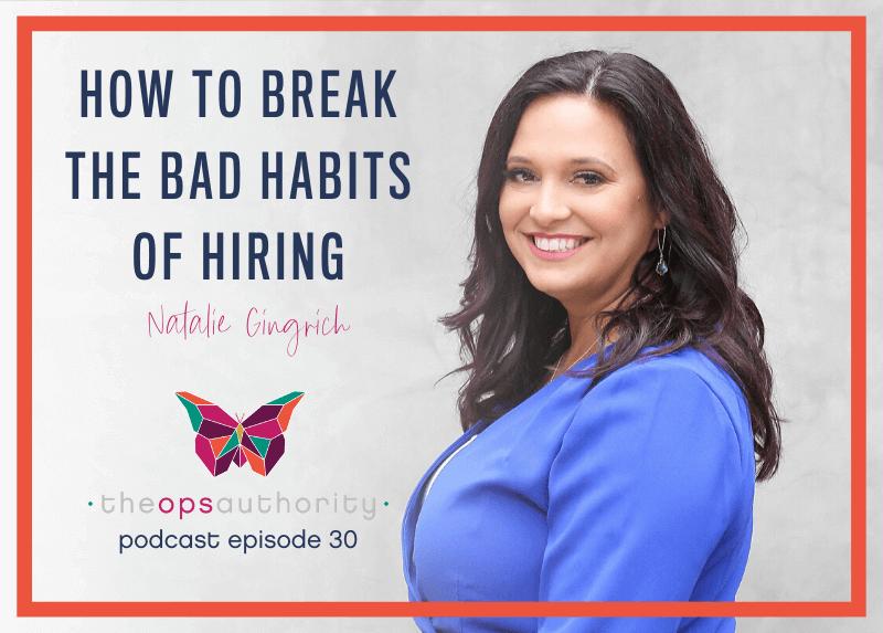 How to break the bad habits of hiring