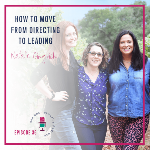 How to Move From Directing to Leading