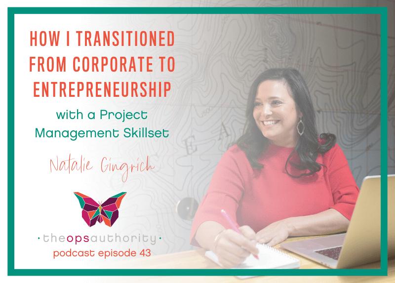 How I transitioned from corporate to entrepreneurship horiztonal