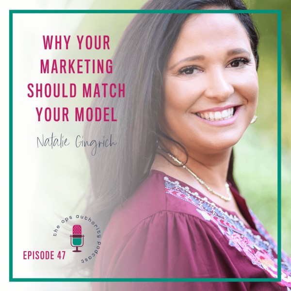 Why Your Marketing Should Match Your Model