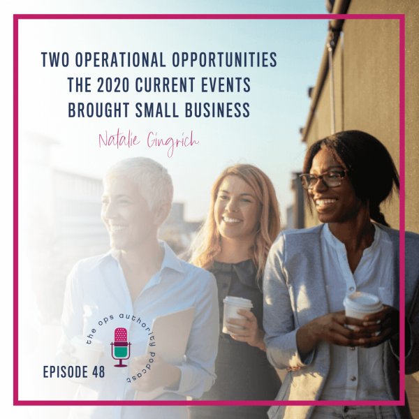 Two Operational Opportunities the 2020 Current Events Brought Small Business
