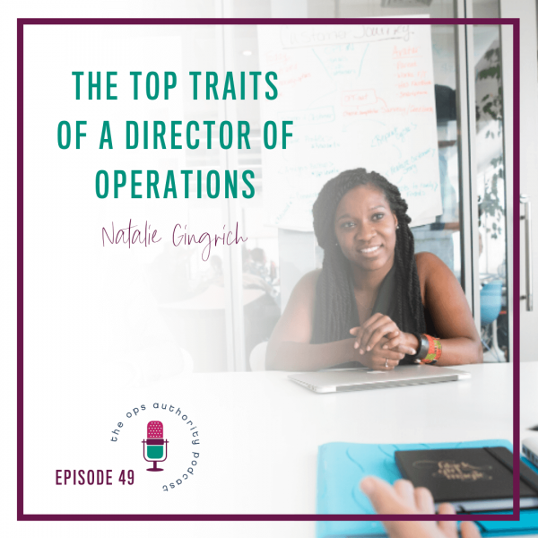 The Top Traits of a Director of Operations