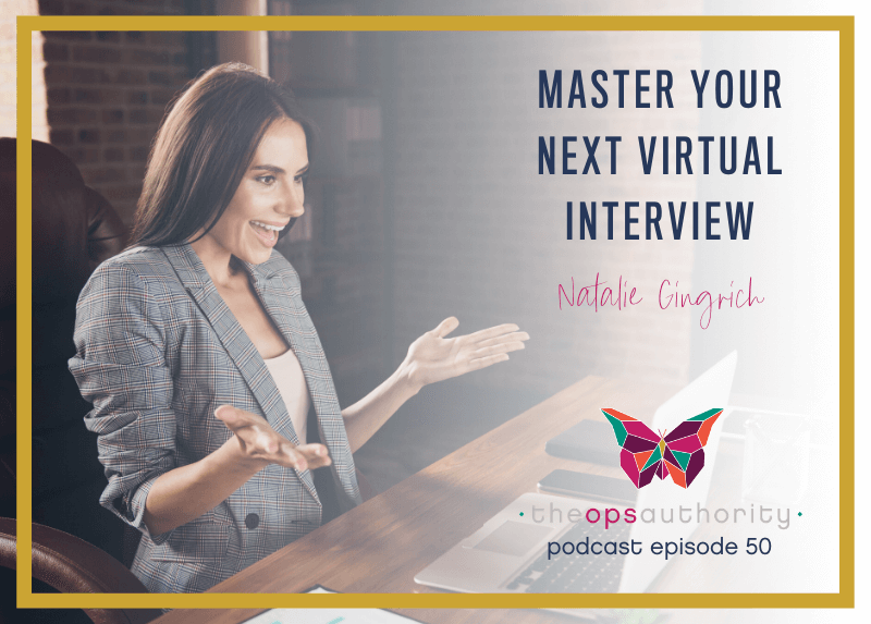 Master Your Next Virtual Interview