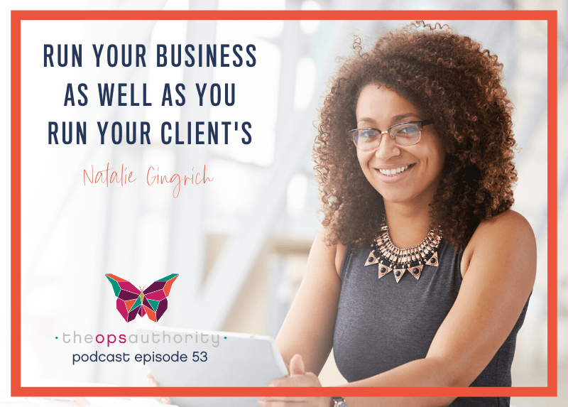 TOA 053 Run your business as well as you run your clients horizontal