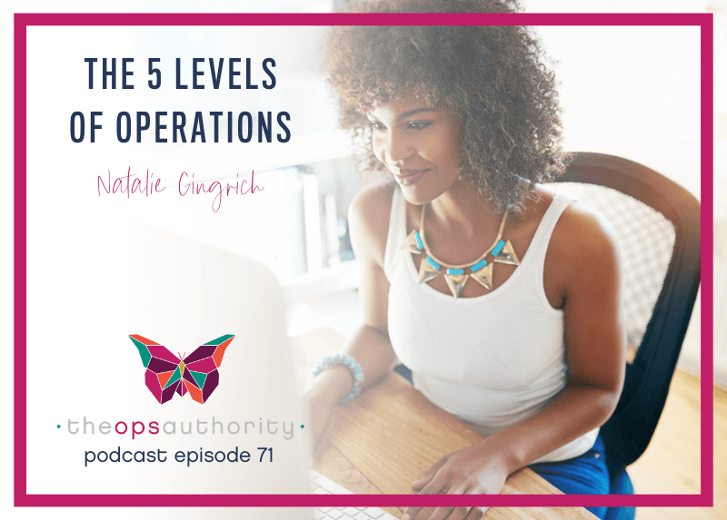 The 5 Levels of Operations