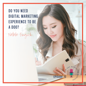 Do You Need Digital Marketing Experience to be a DOO?