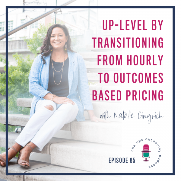 Up-level by Transitioning from Hourly to Outcomes Based Pricing