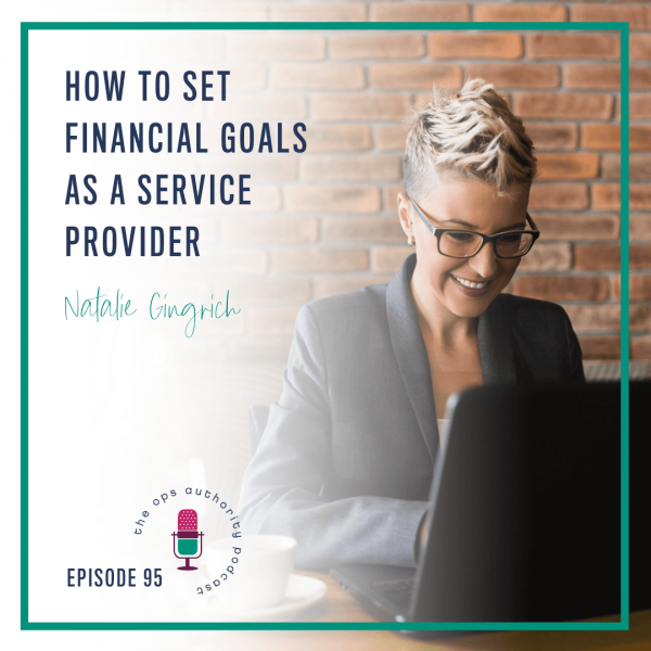 How to Set Financial Goals as a Service Provider