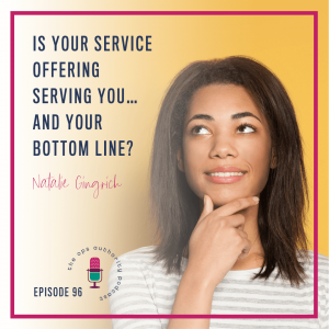 Is Your Service Offering Serving You… and Your Bottom Line?