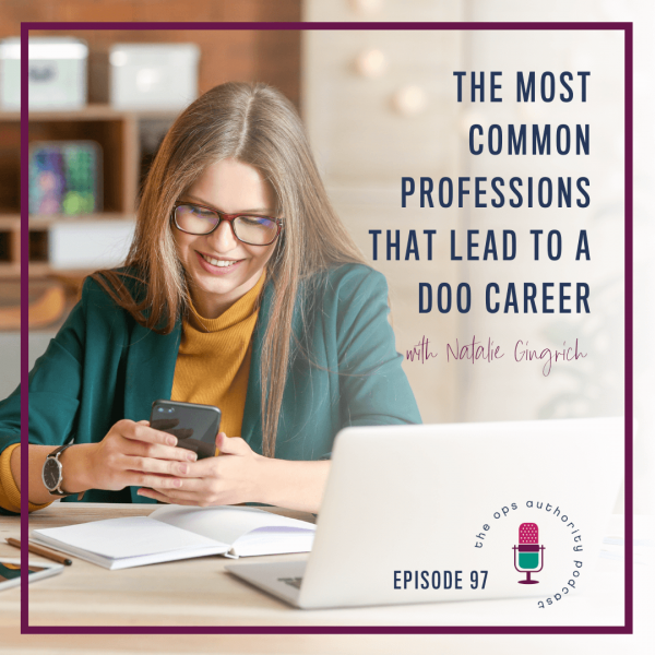 The Most Common Professions that Lead to a DOO Career Square