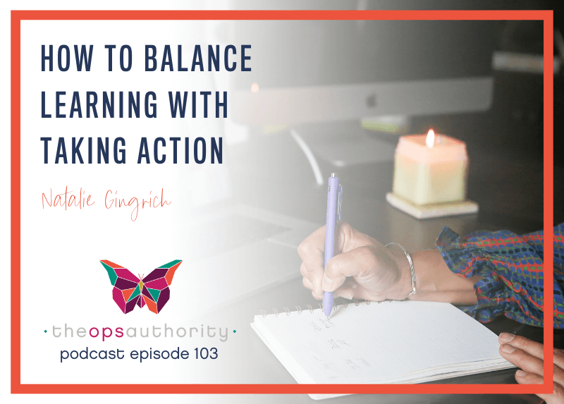 How to Balance Learning with Taking Action