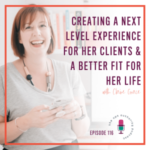 Creating a Next Level Experience for Her Clients & A Better Fit for Her Life with the DOO Certification - Claire Grace